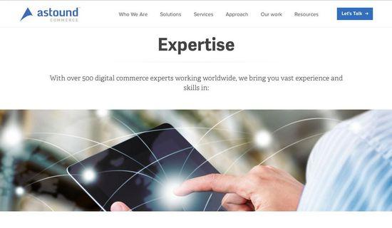 Astound Commerce завершает ребрендинг и презентует новый сайт