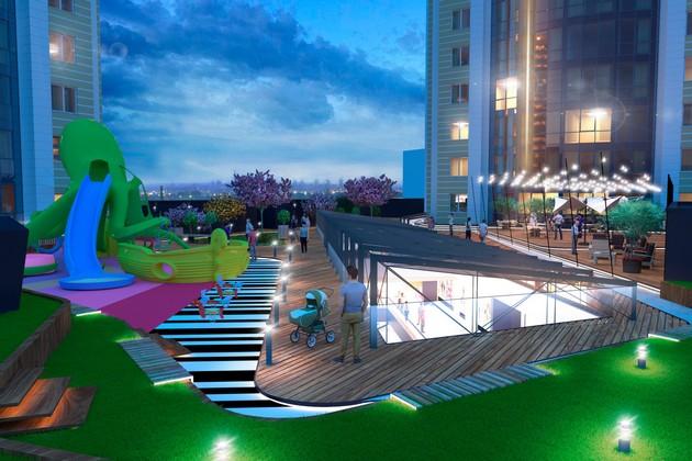 SMART PLAZA: квартира с бассейном, супермаркетом и кинотеатром