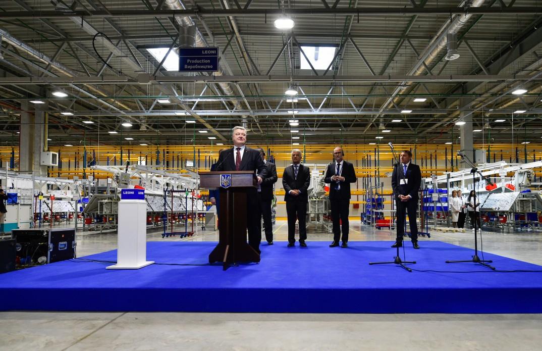 Немецкая компания LEONI открыла второй завод в Украине