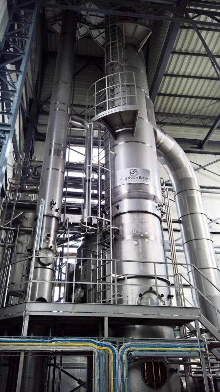 Калиновский машзавод: новейшие вакуум-выпарные установки EvaSys®