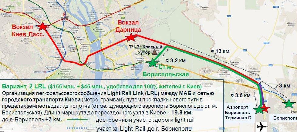Воздушный экспресс 2.0. Зачем реанимируют электричку в Борисполь