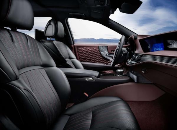 Новый Lexus LS. Открыт прием заказов на флагманский седан