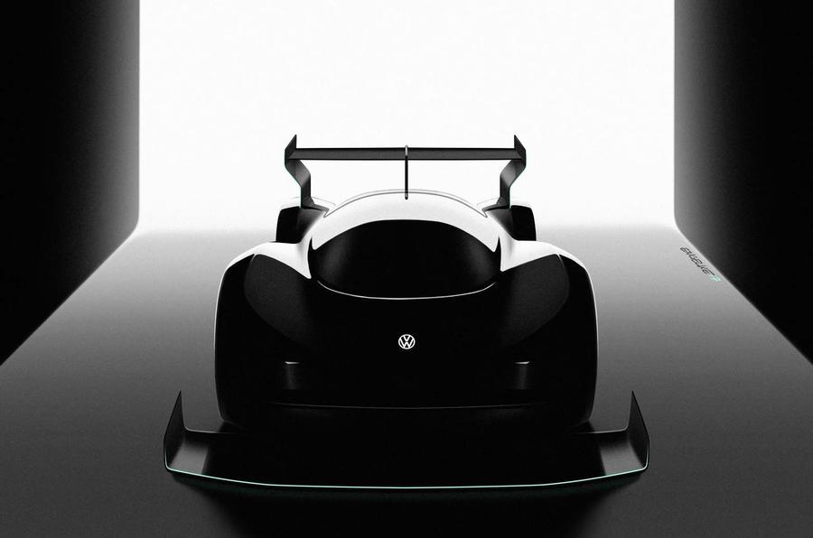 Volkswagen выпустит гоночный электрокар: фото