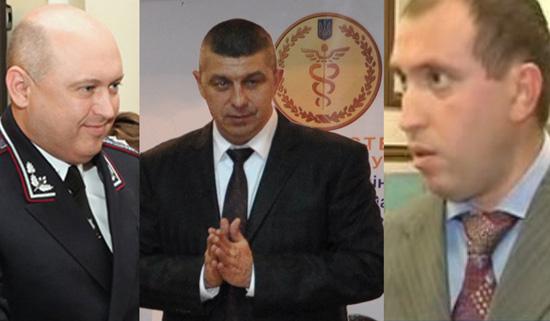 Слева направо Головач, Сингаевский, Альперин
