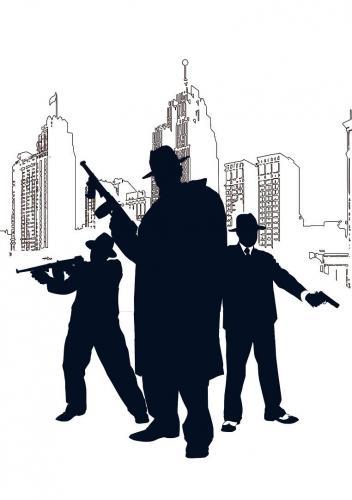 да в этом стиле))) что -нибудь с оружием, сигаретами, гангстерами.