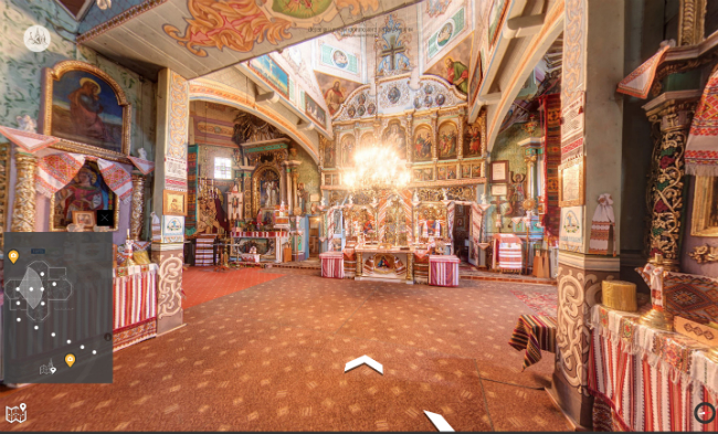 Компания Google выпустила виртуальный тур поцерквям Карпатского региона