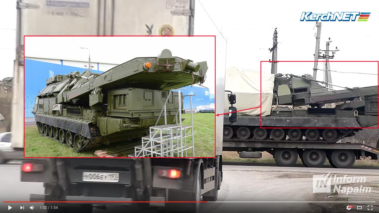 Российская Федерация перебросила вКрым мощнейший зенитно-ракетный комплекс