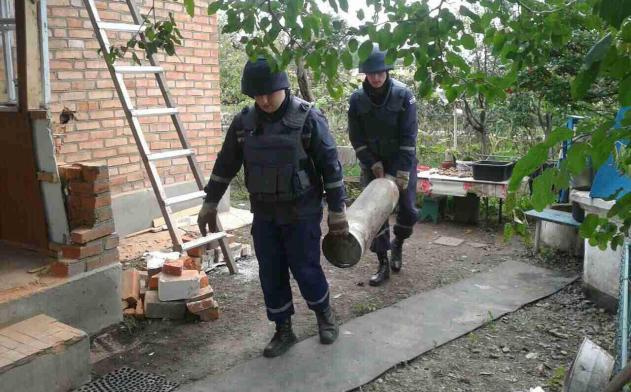Минобороны и спасатели сообщили о ситуации в Калиновке: фото