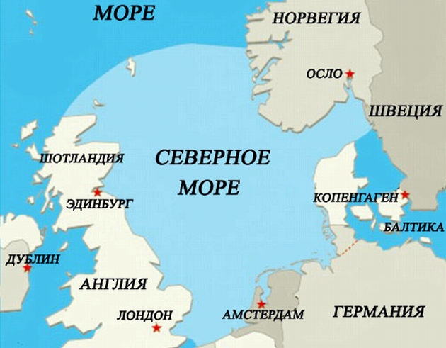 В Северном море авария на нефтеплатформе - утечка до 100 тонн