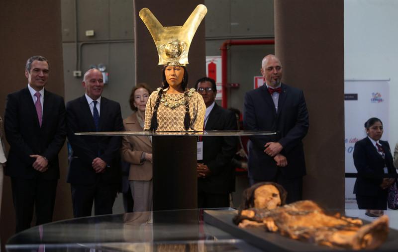В Перу при помощи технологий воссоздали лицо мумии Леди Као: фото