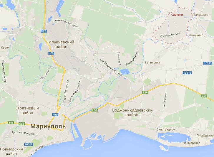 При обстреле пригорода Мариуполя погибли 7 мирных жителей