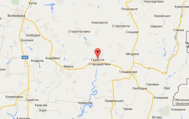 В районе Гранитного уничтожен минометный расчет боевиков - ИС
