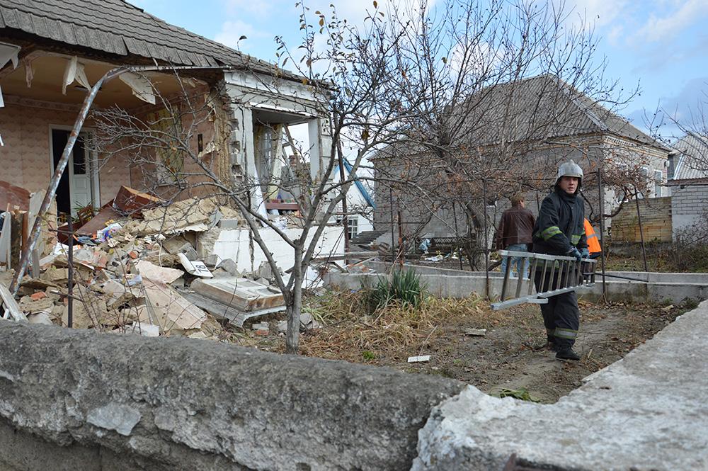 В Днепре от взрыва разрушился жилой дом: фото