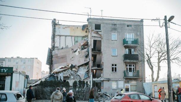 В Польше произошел взрыв в жилом доме: 4 погибли, 24 ранены