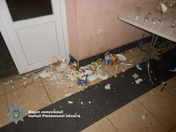 В Ровенской области в массовой драке травмы получили 11 человек