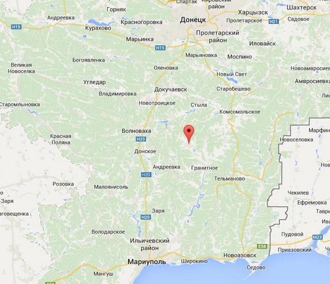 В районе Старогнатовки в бою погиб боец АТО, семеро ранены