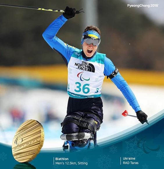 Тарас Радь принес Украине четвертое золото на Паралимпиаде-2018