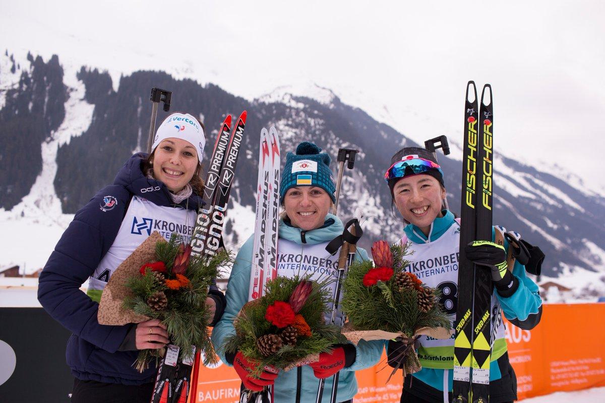 Россиянка Сливко стала третьей на чемпионате Европы по биатлону