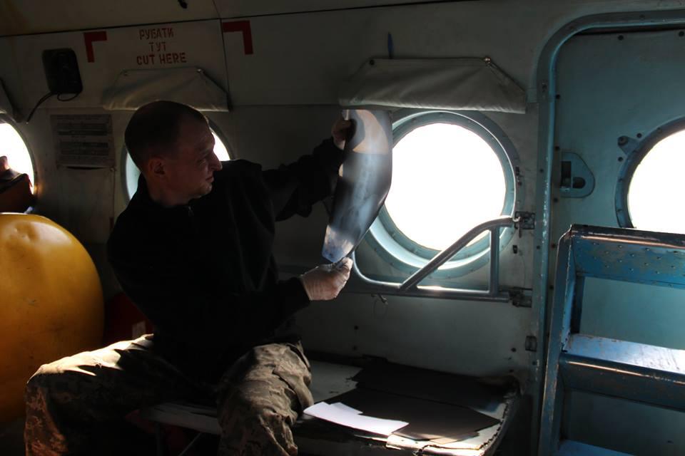 Как работает система первой медпомощи в зоне АТО: фото