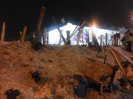 Евромайдан, день 22-й: хроника