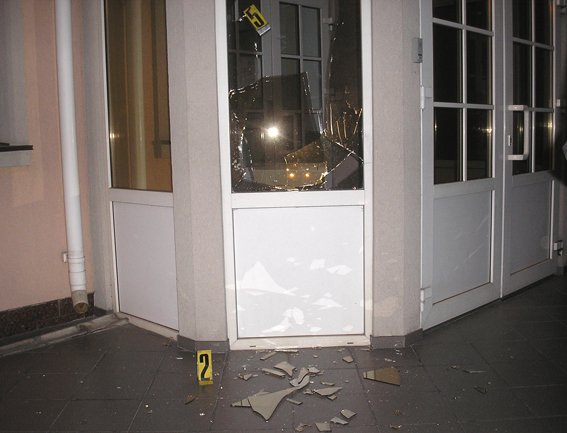 В Ровно взорвали гранату возле здания областной прокуратуры: фото