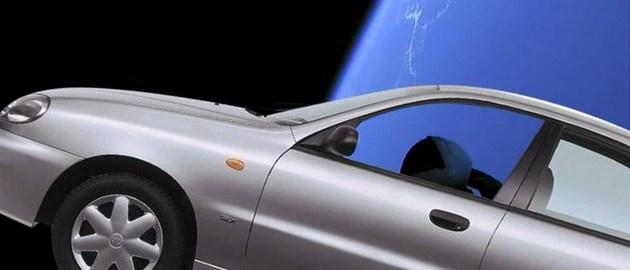 Ланос в космосе, Флакон-9 и Вин Дизель: фотожабы на Falcon Heavy