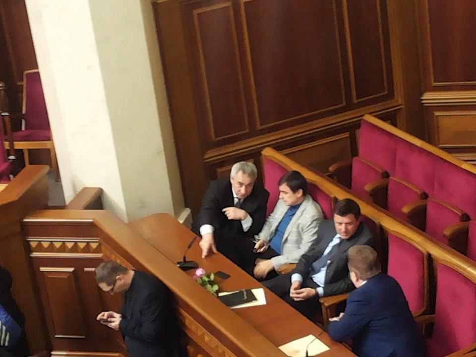 Переговори у спікера Верховної Ради Рибака затягуються