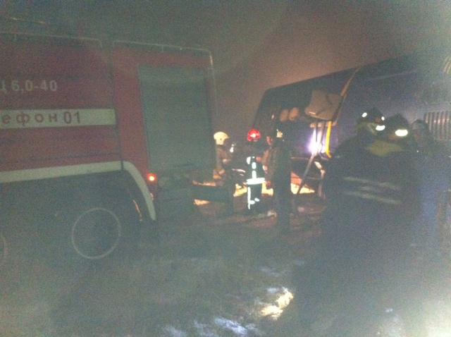 В России перевернулся автобус Москва - Донецк: 4 погибших (фото)