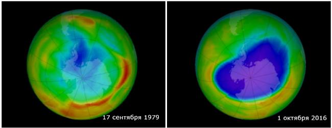 В NASA показали, как глобальное потепление влияет на Землю: фото