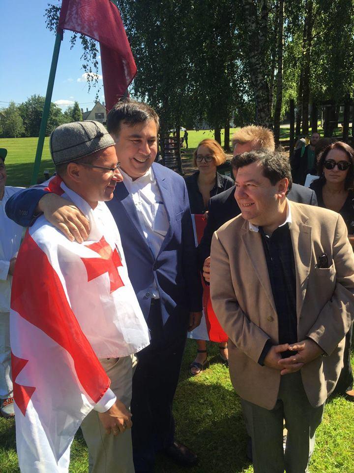 Уволенный Балчун и Саакашвили на границе: главные новости недели