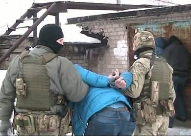У Харківській області з боєм затримано терориста Оплоту: відео