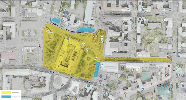 Улица Сагайдачного и Контрактовая площадь станут пешеходными