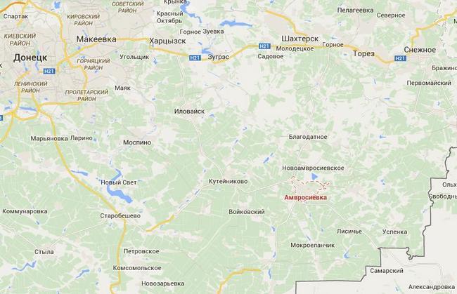 В Донбасс прибыла колонна военной техники и 500 военных РФ - ИС