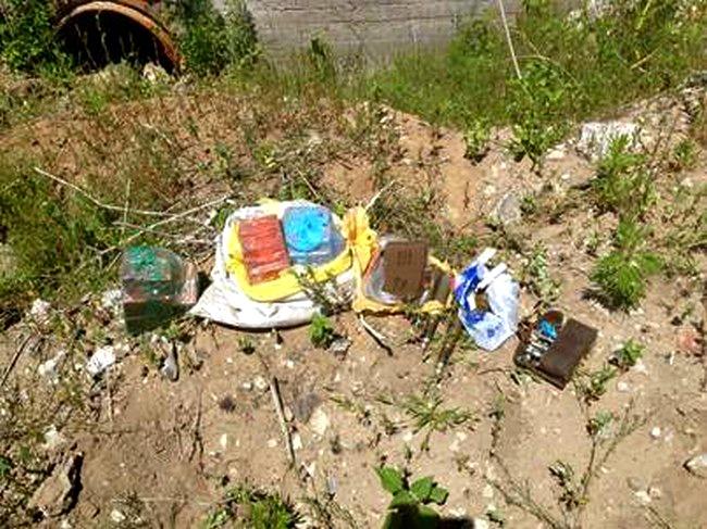 СБУ задержала военных с оружием из зоны АТО: фото