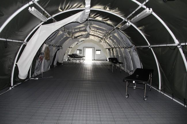 Канада передала ВСУ мобильный военный госпиталь: фото, видео
