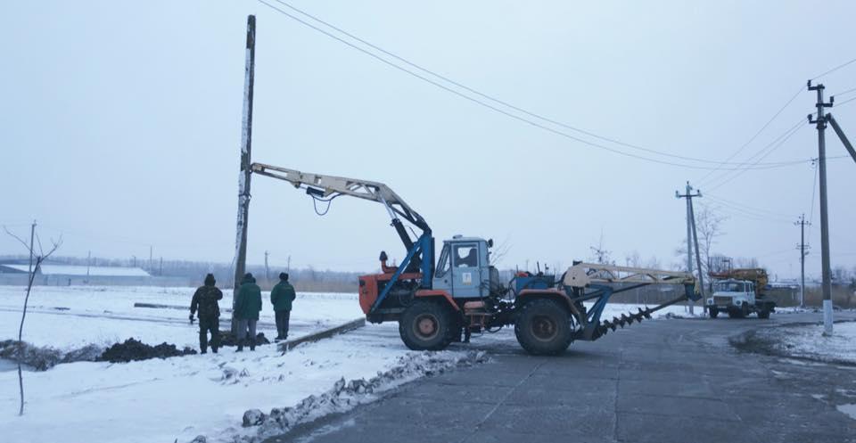 В Одесской области район уже пять суток без света из-за непогоды