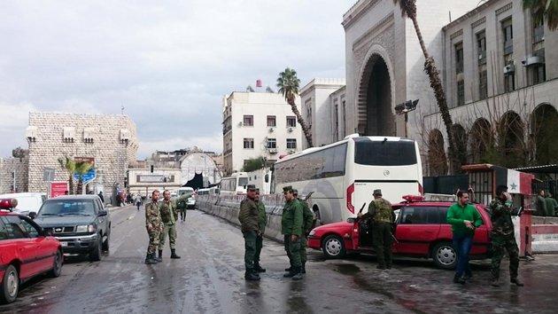 Теракт в Дамаске: подрыв смертника унес жизни 25 человек