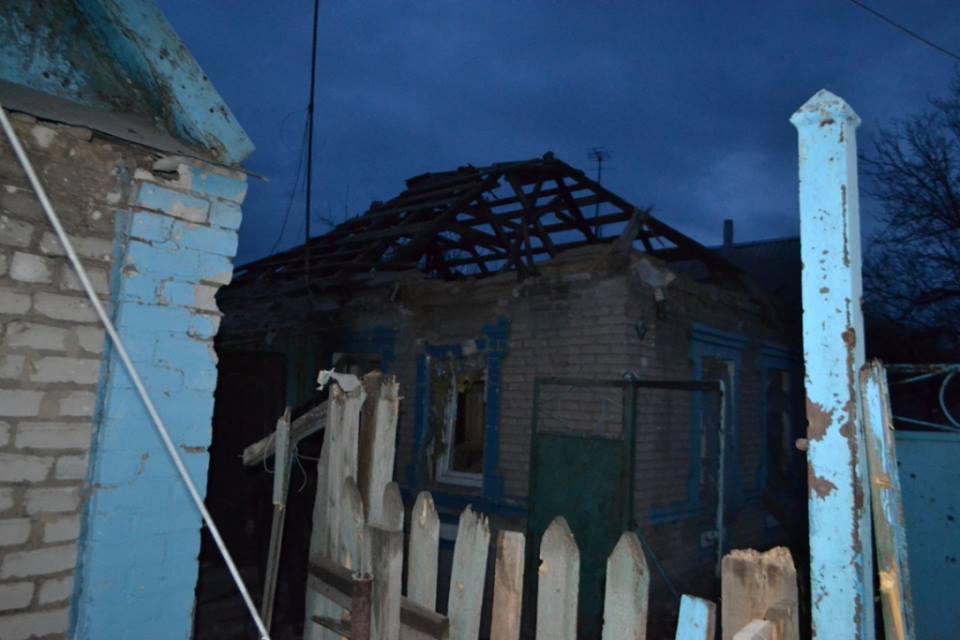 Боевики обстреляли жилые кварталы Авдеевки: повреждены 6 домов