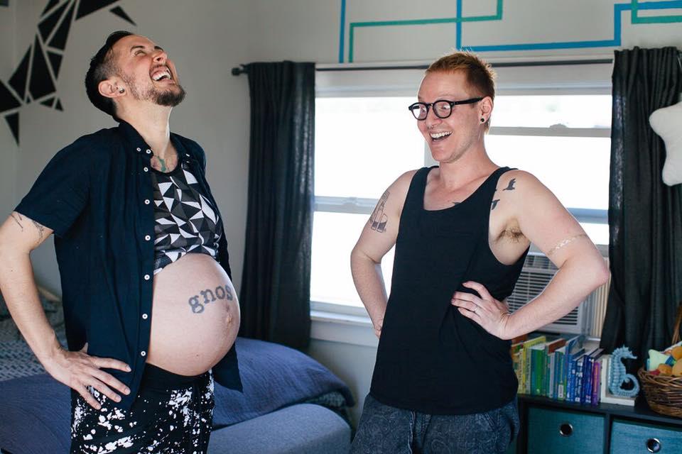 В США у трансгендера родился здоровый ребенок: фото