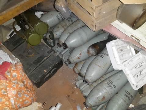В Донецкой области найден тайник с боеприпасами ДНР: фото, видео