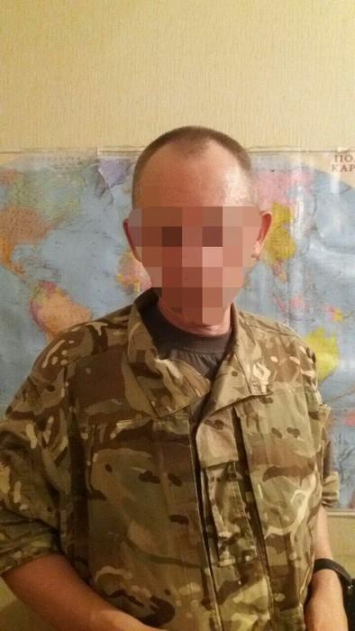 СБУ задержала воевавшего на стороне террористов контрактника ВСУ