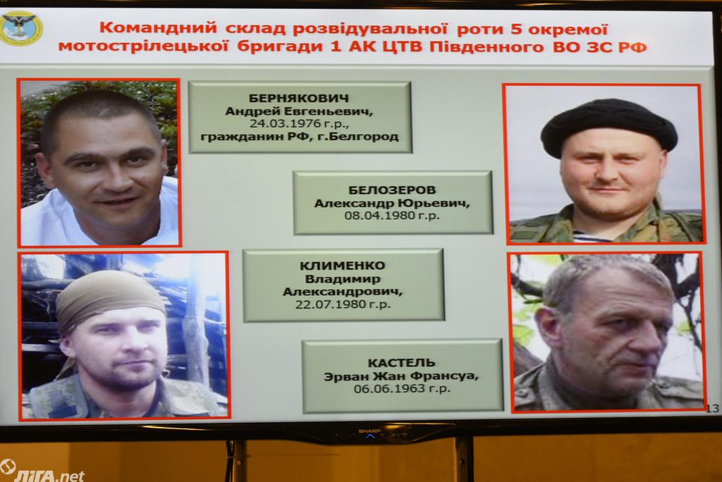 ГУР назвало россиян, причастных к военным преступлениям в Украине