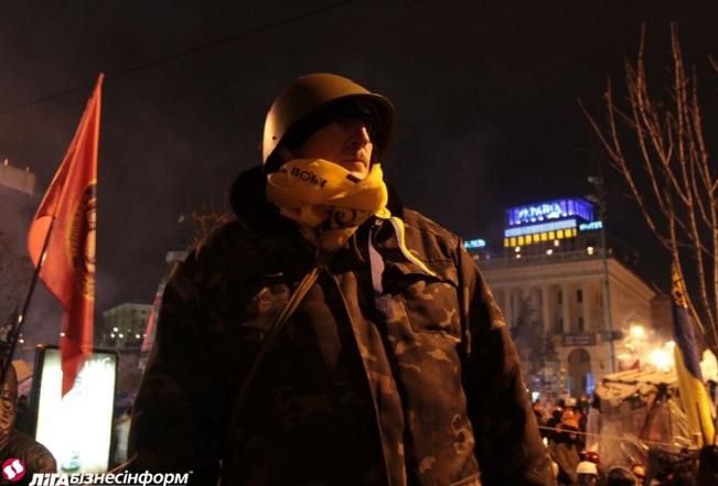 Первый штурм Майдана год назад: как это было