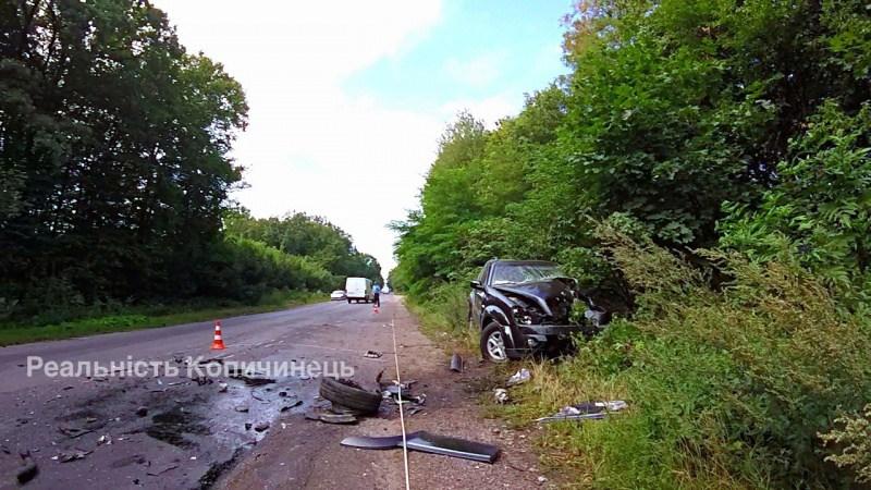 Тяжелое ДТП на Тернопольщине: один погибший, четверо пострадавших