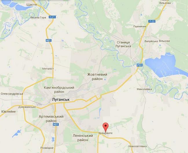 Силы АТО освободили Чернухино и вошли в Хрящеватое