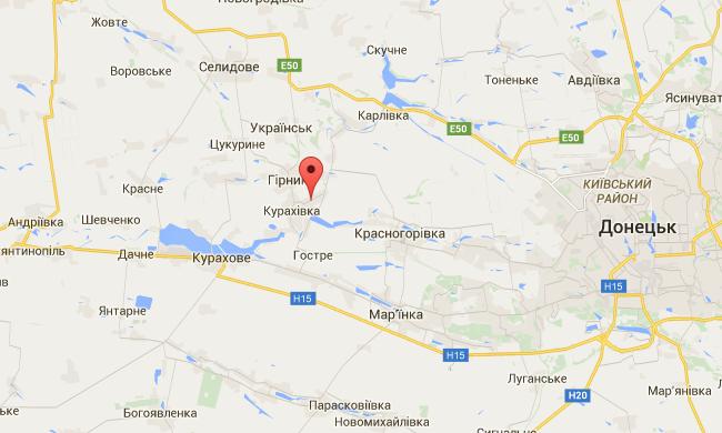 Опубликованы фото последствий обстрела из Градов боевиков