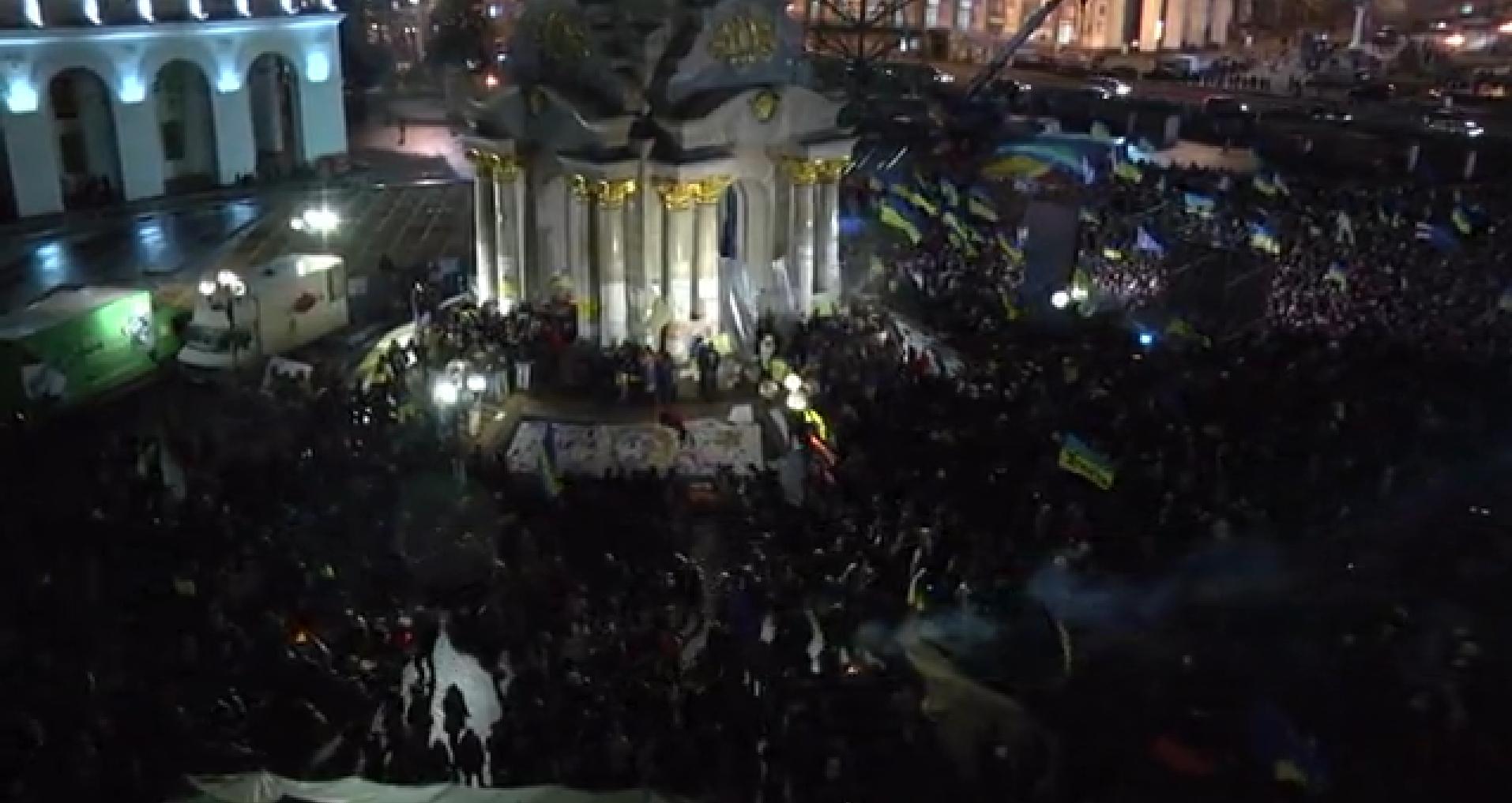 8-й день Евромайдана: затишье перед бурей (фото+ видео)