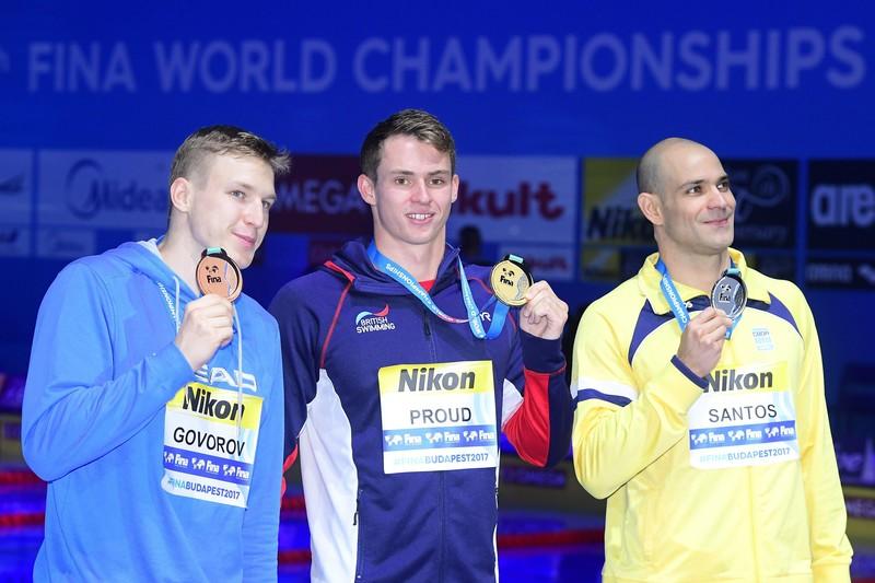 Пловец Говоров завоевал бронзу на чемпионате мира в Будапеште