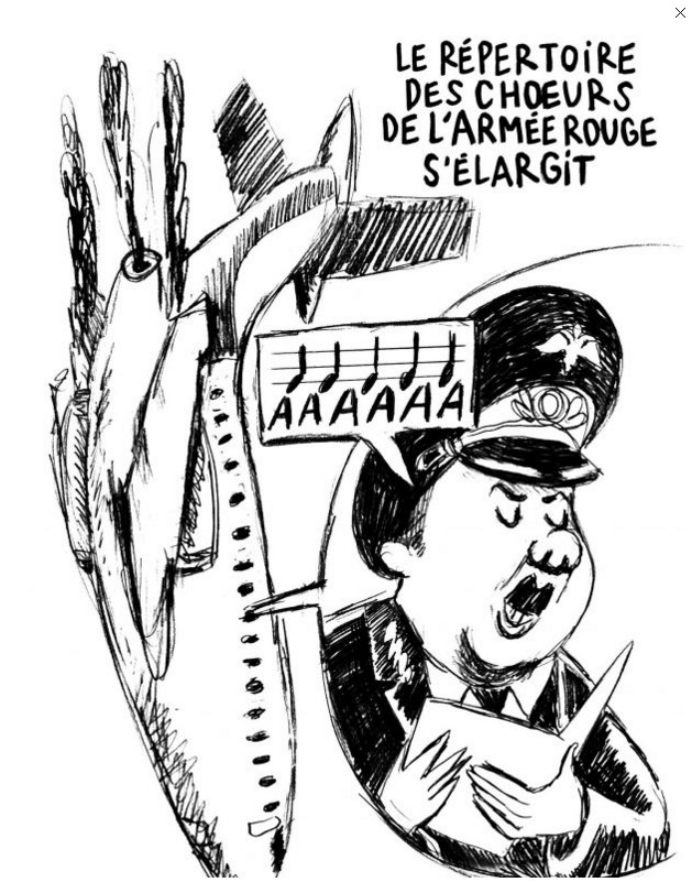 Charlie Hebdo опубликовал карикатуры на катастрофу Ту-154: фото