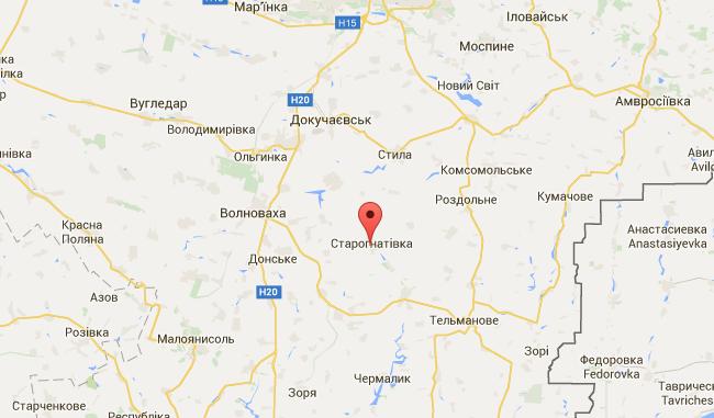 Под Волновахой СБУ задержала информатора боевиков: видео